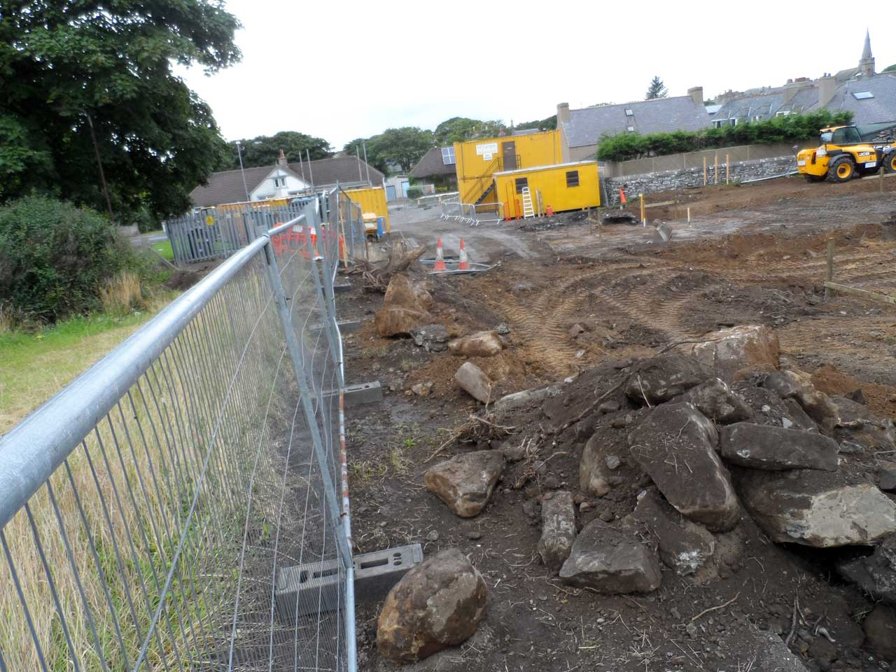 Photo: Building the New Children's home In Wick Has Started
