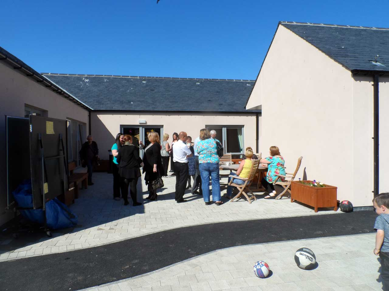 Photo: New Children's Home In Wick Opened 25 June 2014
