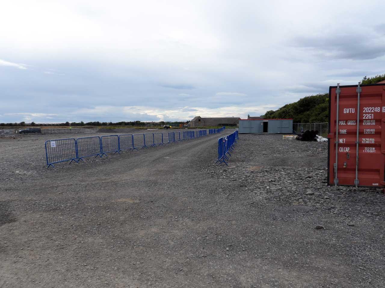 Photo: Nuclear Archive Construction Site - 29 August 2015