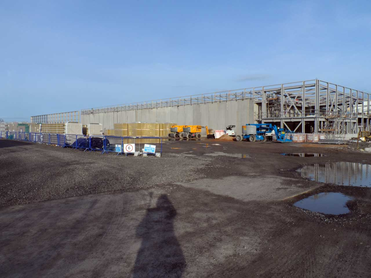 Photo: Nuclear Archive Construction Site - 13 March 2016