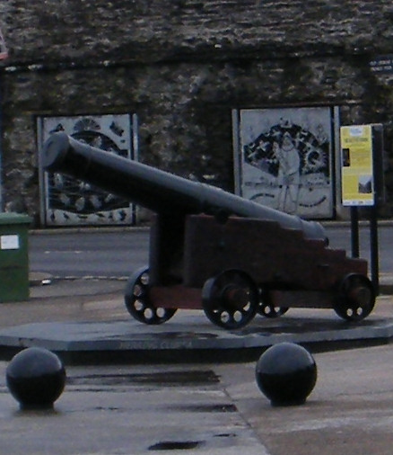 Photo: The Old Fog Cannon - Wick Harbour