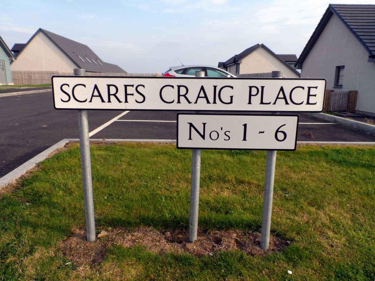 Photo: Scarfs Craig Place, Wick
