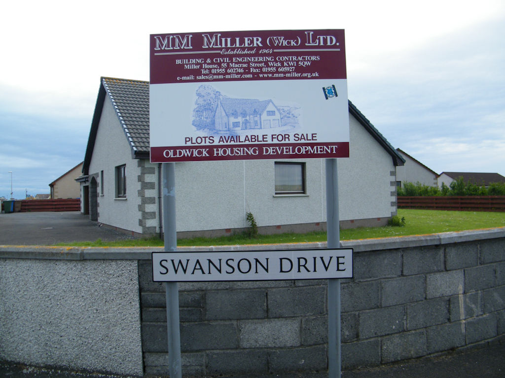 Photo: Swanson Drive, Wick