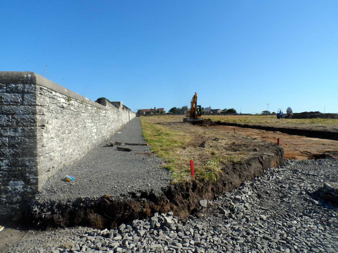Photo: Wick High School Site As Groundworks Commence
