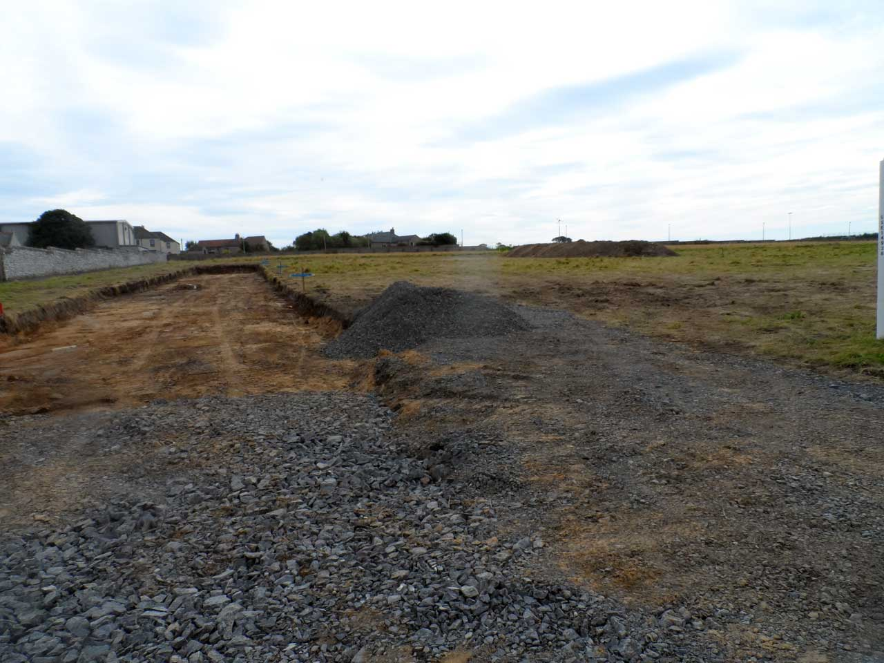 Photo: Wick High School Site Groundworks Commence - 2 September 2014