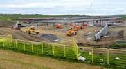 Wick High School construction progress at 12 June 2015