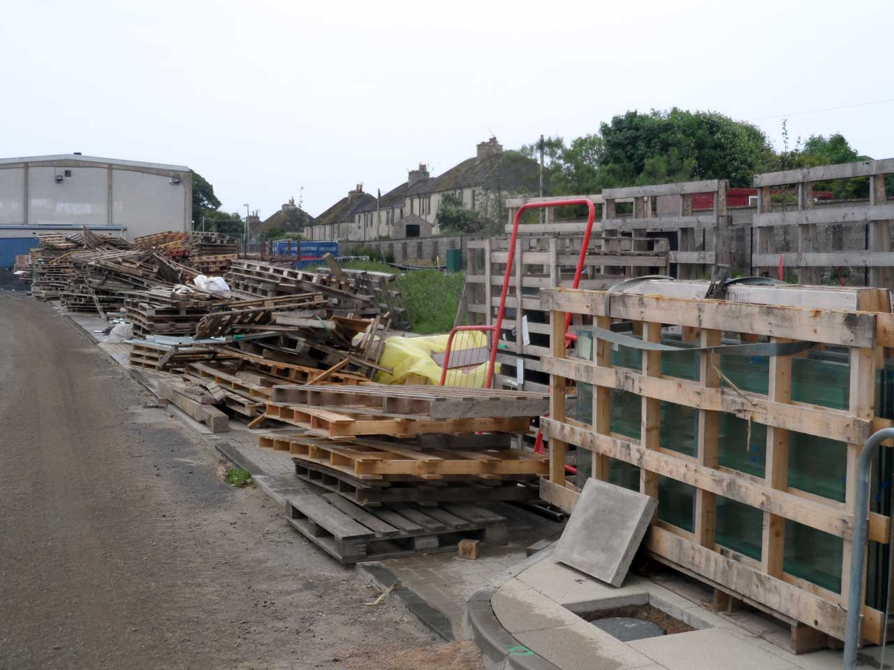 Photo: Wick High School - Pallets Free To Anyone to Collect