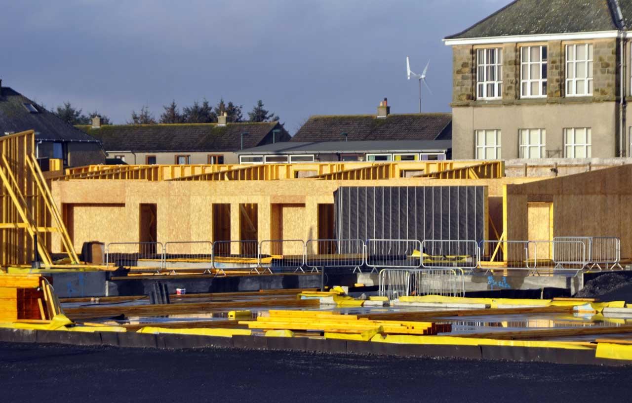 Photo: New Noss Primary School, Wick 18 November 2014