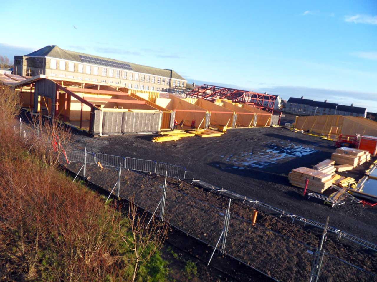 Photo: New Noss Primary School, Wick 4 January 2015