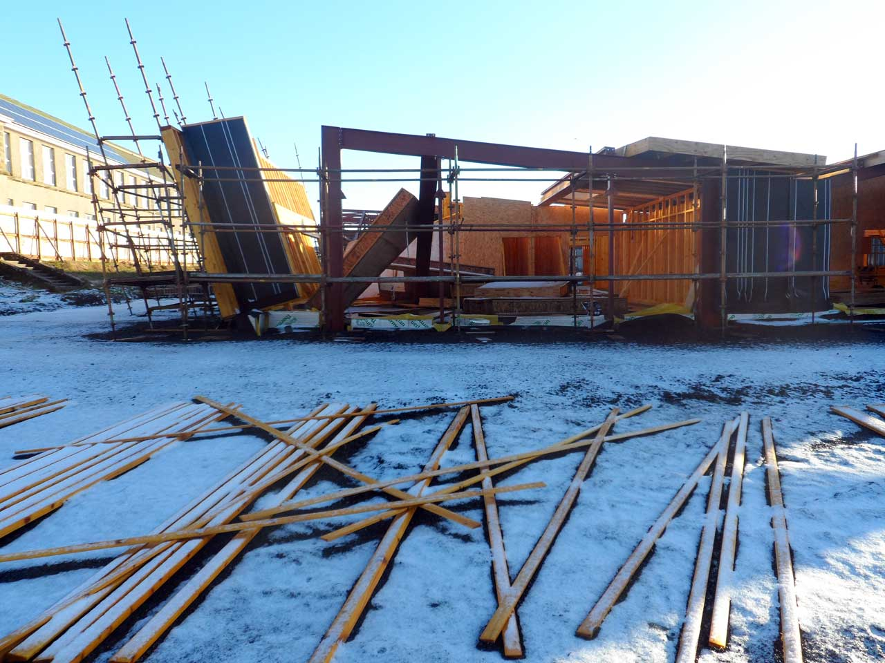 Photo: New Noss Primary School, Wick 11 January 2015