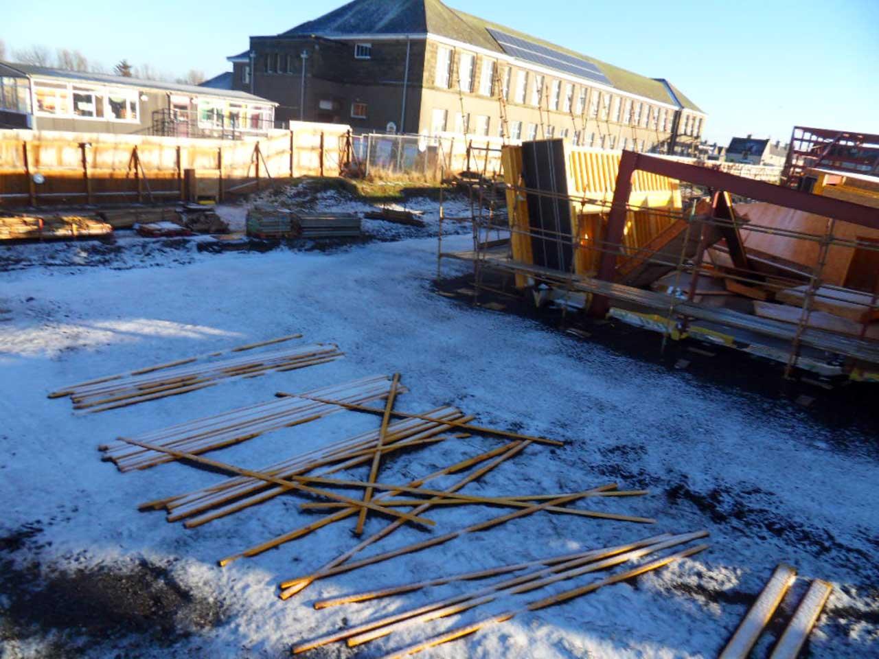 Photo: New Noss Primary School, Wick 11 January 2015