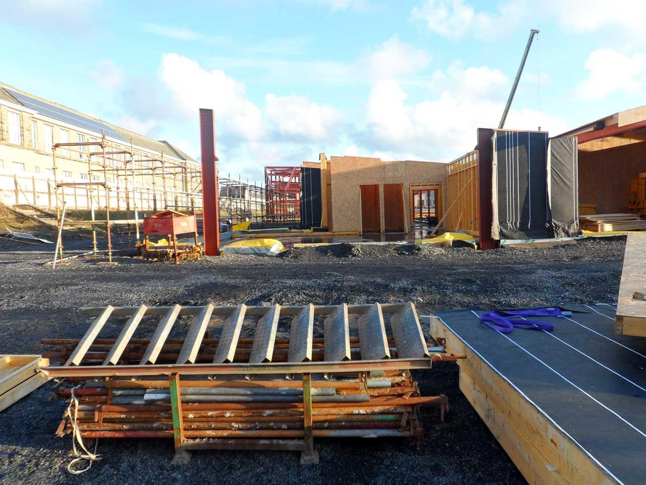 Photo: New Noss Primary School, Wick 21 January 2015