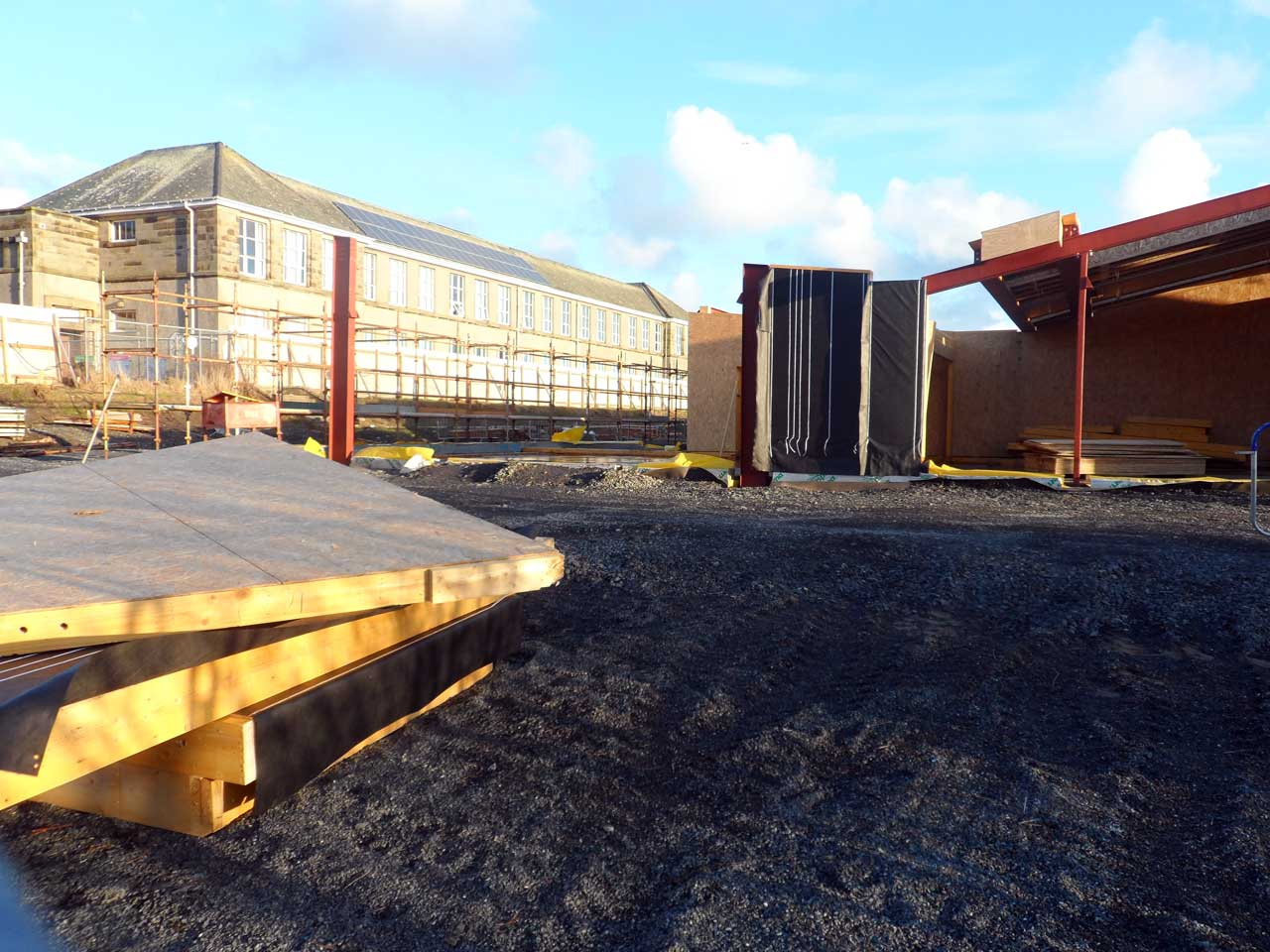 Photo: New Noss Primary School, Wick 21 January 2015