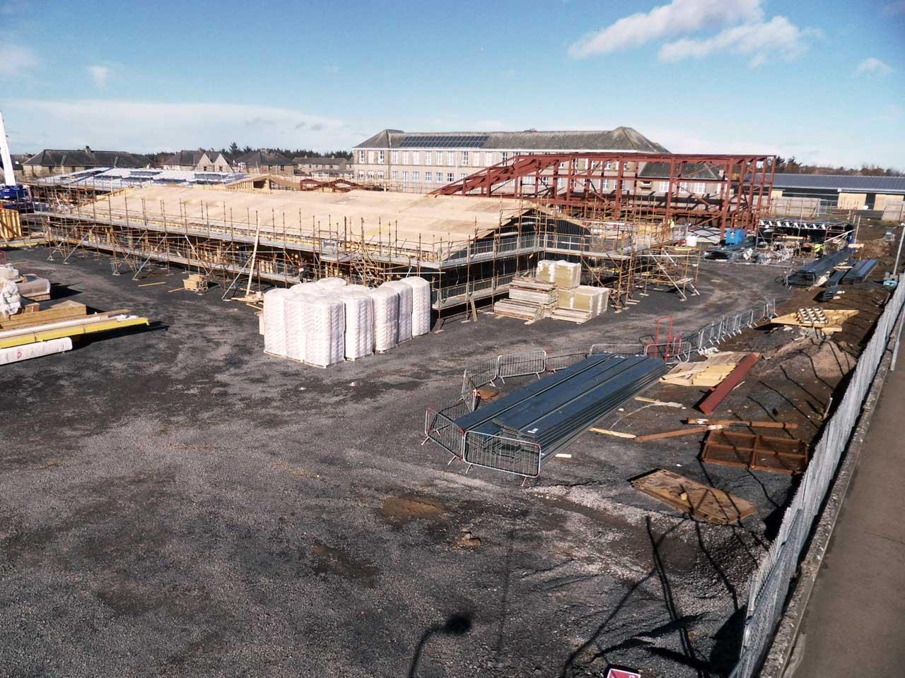 Photo: New Noss Primary School, Wick 3 March 2015