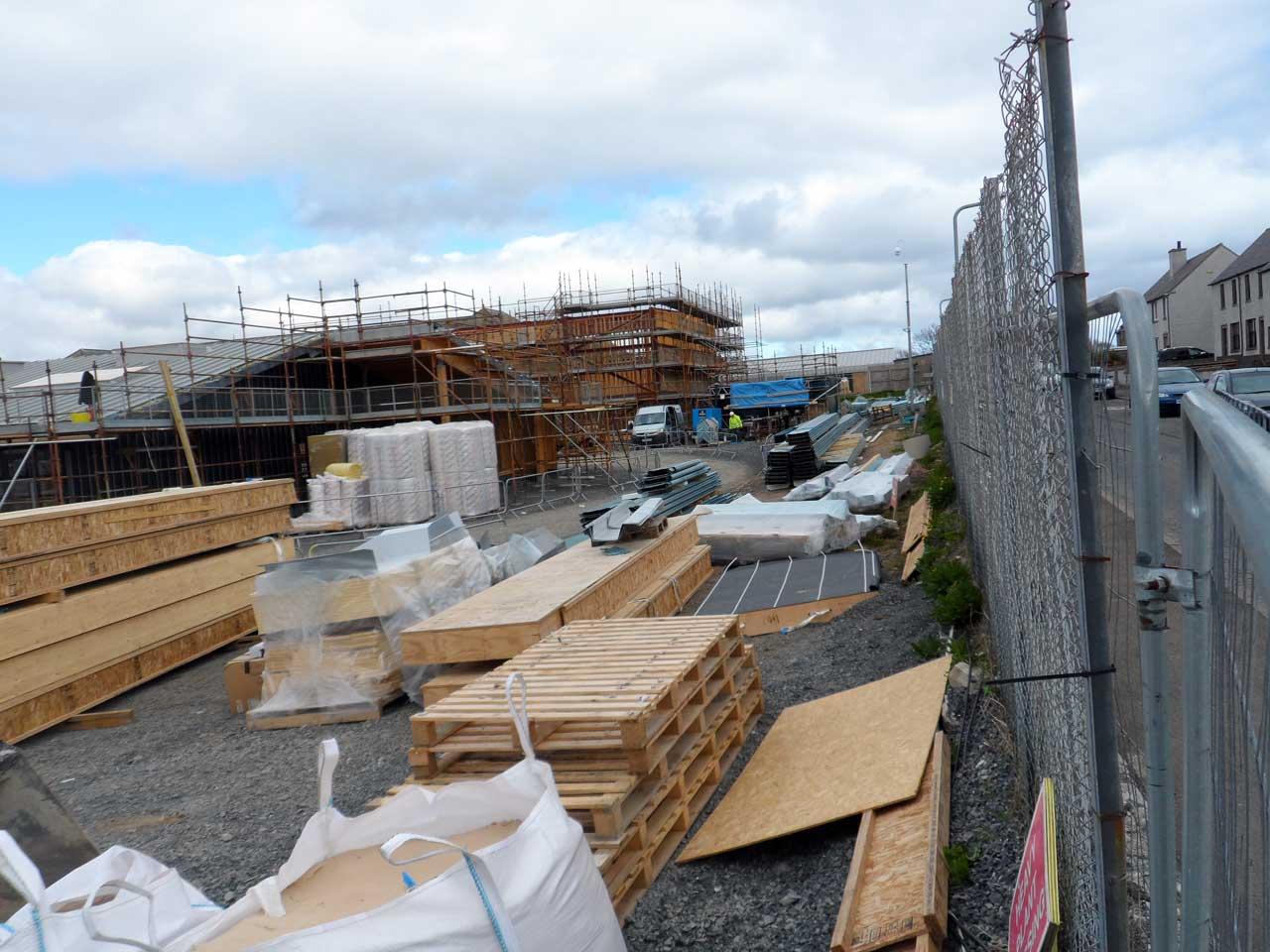 Photo: New Noss Primary School, Wick 24 April 2015