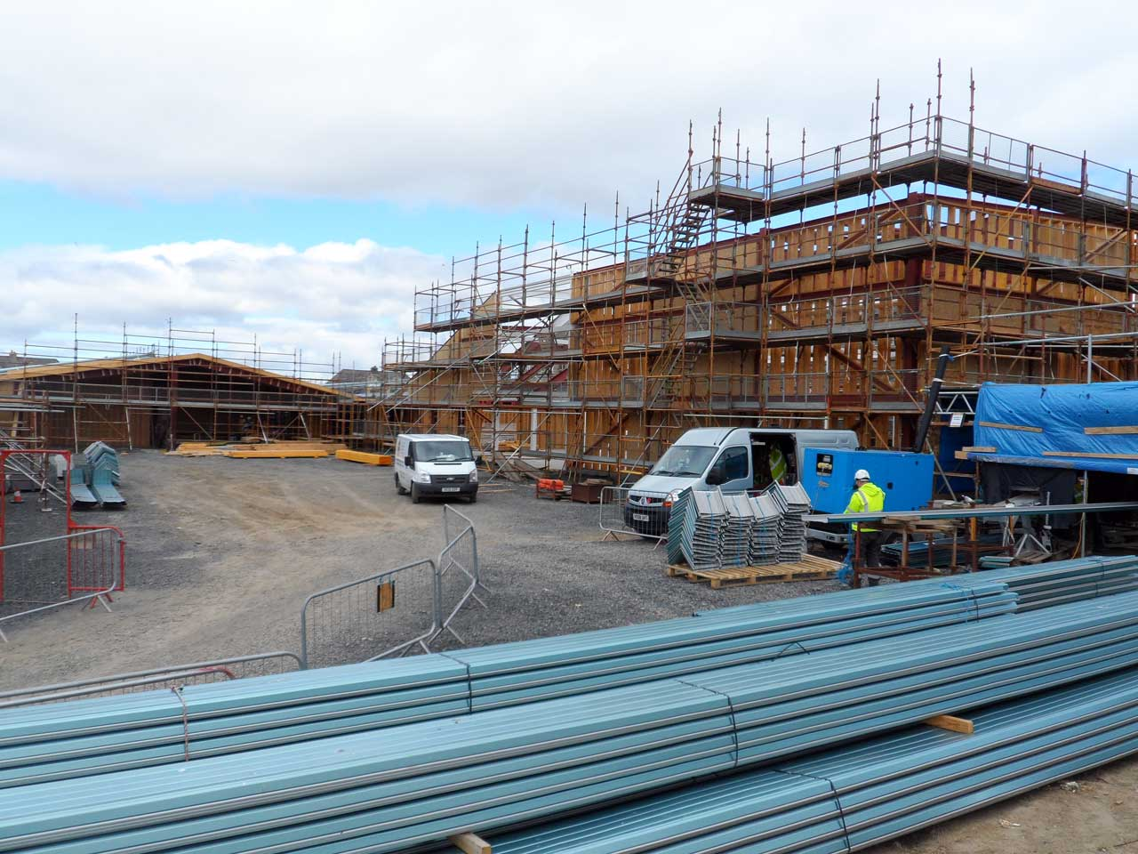 Photo: New Noss Primary School, Wick 24 April 2015