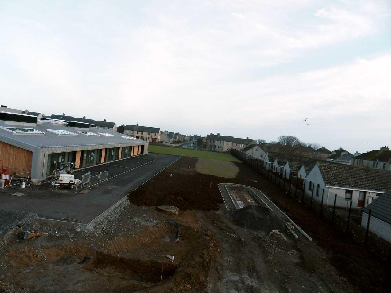 Photo: New Noss Primary School, Wick 23 January 2016