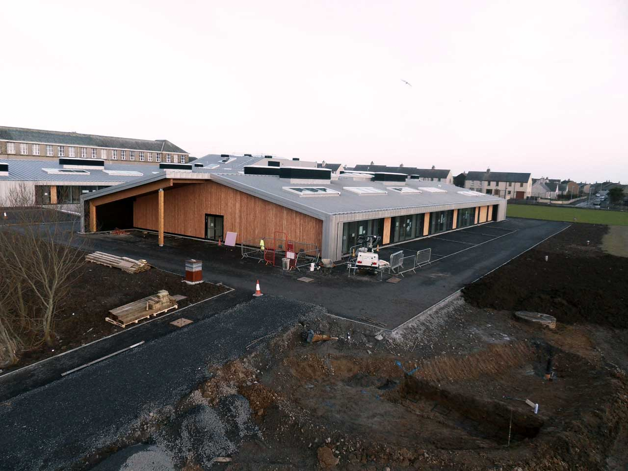 Photo: New Noss Primary School, Wick 23 January 2016