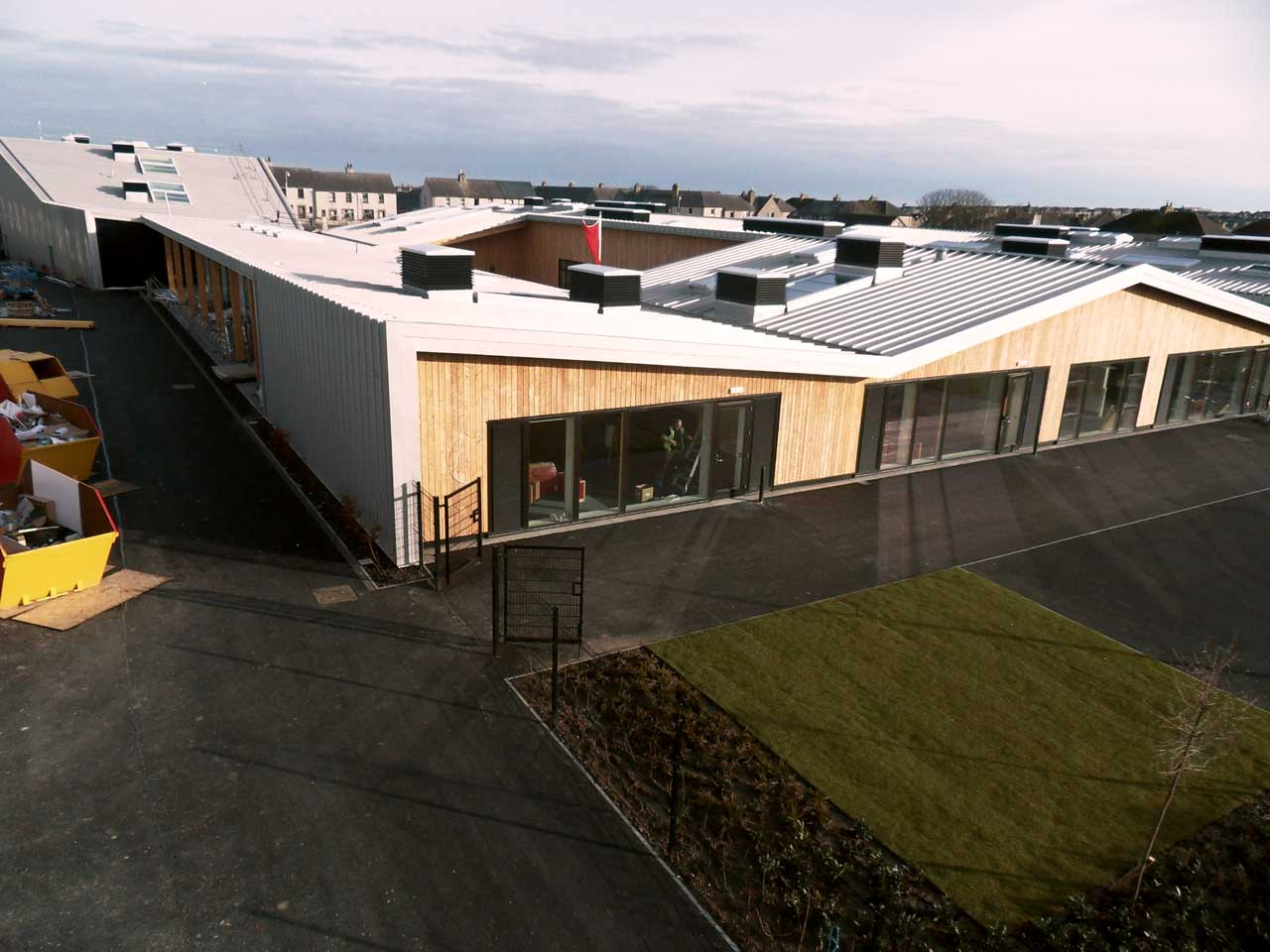 Photo: New Noss Primary School, Wick 13 March 2016
