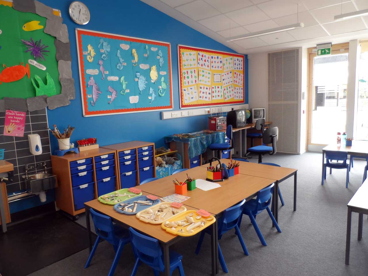 Photo: New Noss Primary School, Wick - Inside