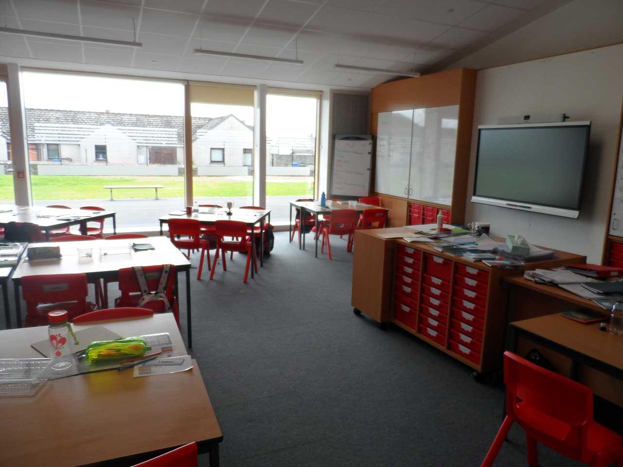 Photo: New Noss Primary School, Wick - Inside