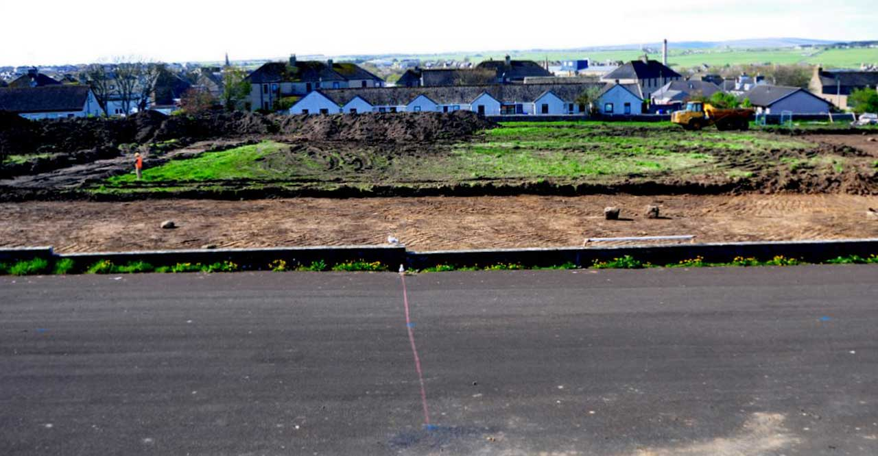 Photo: New Primary School, Wick 12 May 2014