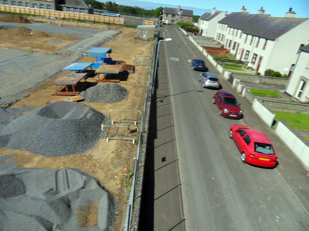 Photo: New Noss Primary School, Wick 24 June 2014