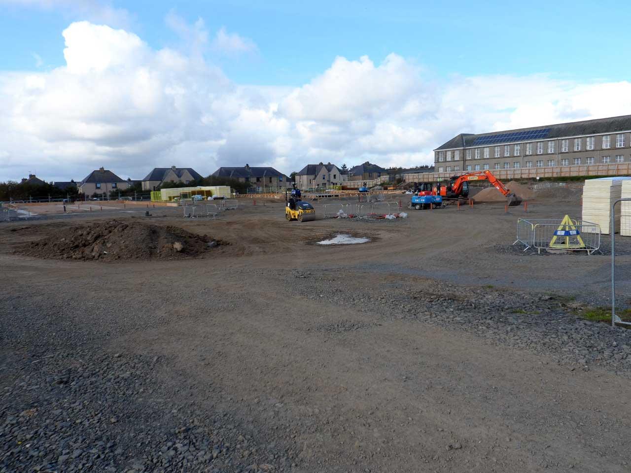 Photo: New Noss Primary School, Wick 20 September 2014