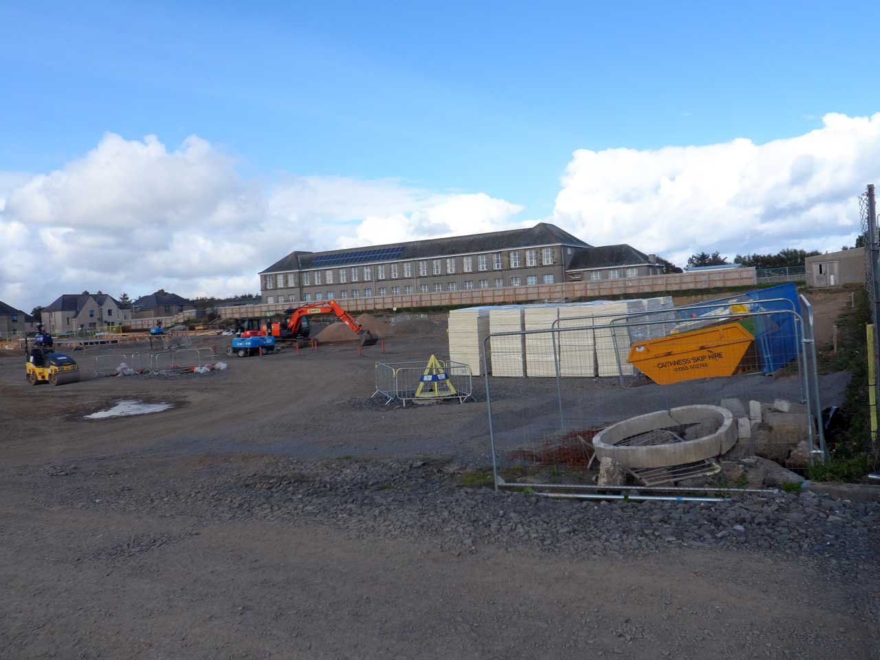 Photo: New Noss Primary School, Wick 20 September 2014