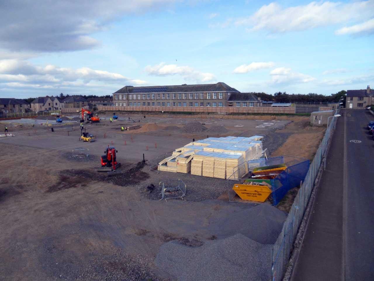 Photo: New Noss Primary School, Wick 27 September 2014