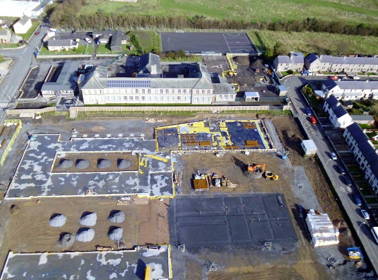 Photo: New Noss Primary School, Wick 13 October 2014