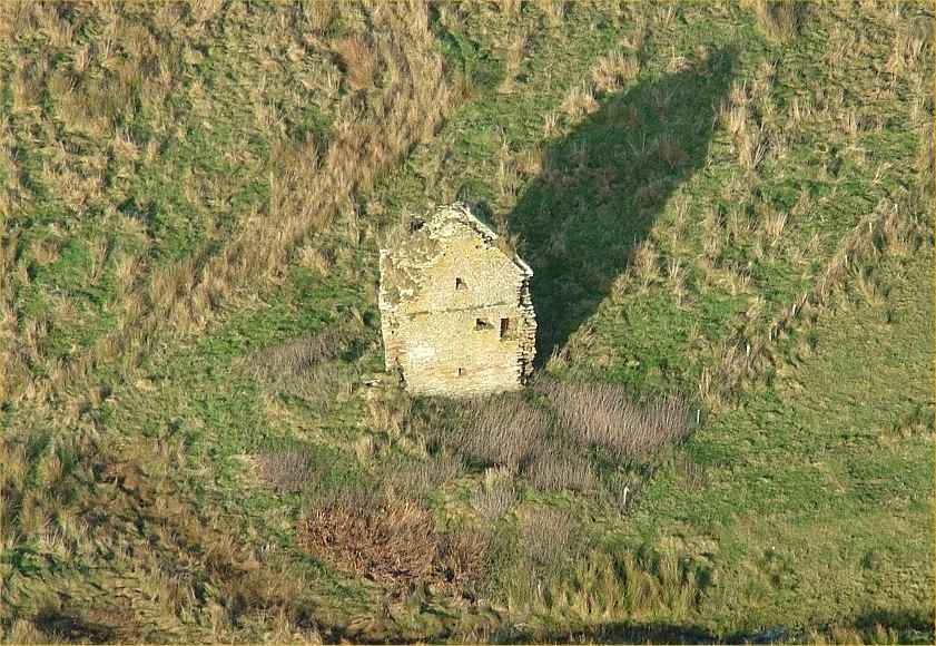 Photo: Brabster Castle From The Air