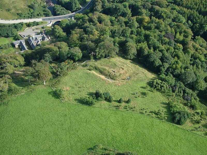 Photo: Langwell Castle From The Air
