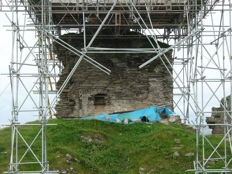 Photo: Girnigoe Castle - 29 July 2005