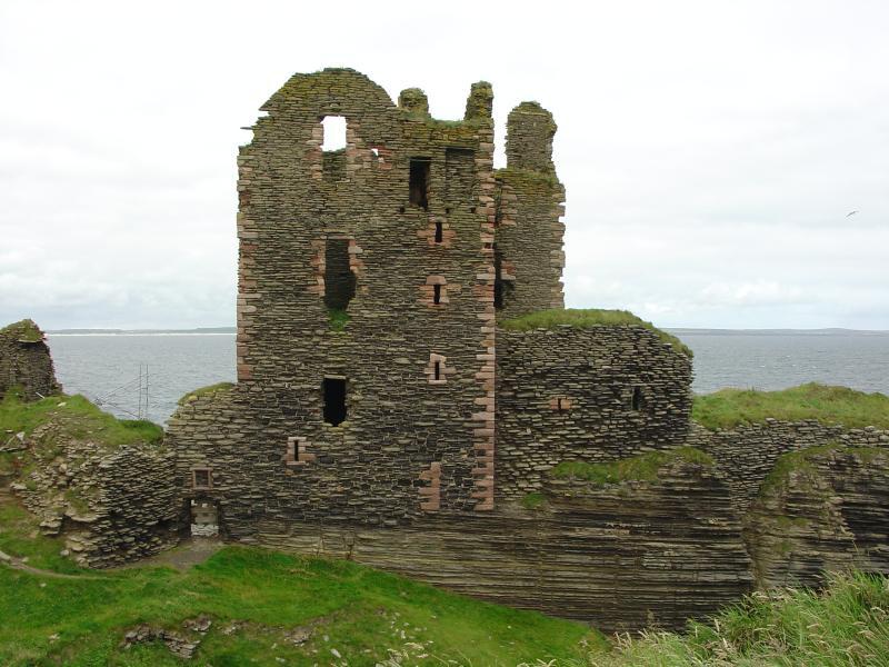 Photo: Girnigoe Castle - 29 July 2005