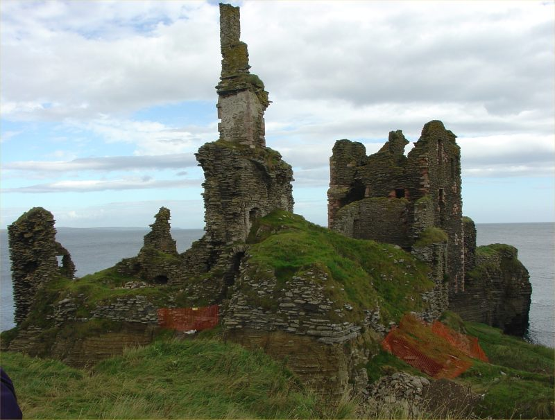 Photo: Girnigoe Castle - Earl Of Caithness & Caithness Field Club Outing