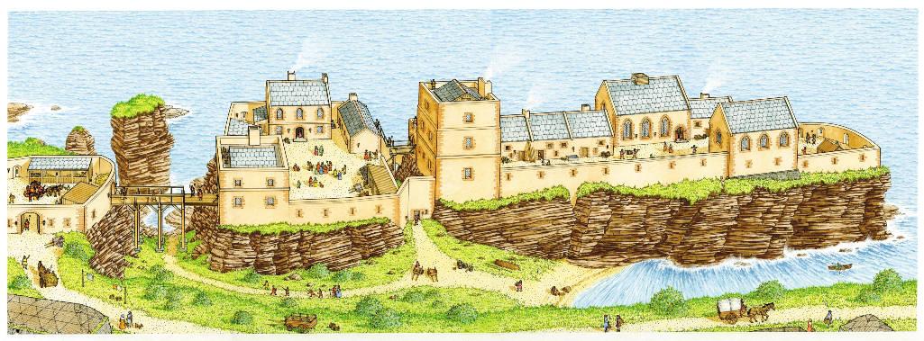Photo: Sinclair Castle - Possible 1500s