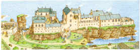 Sinclair Castle 1600's