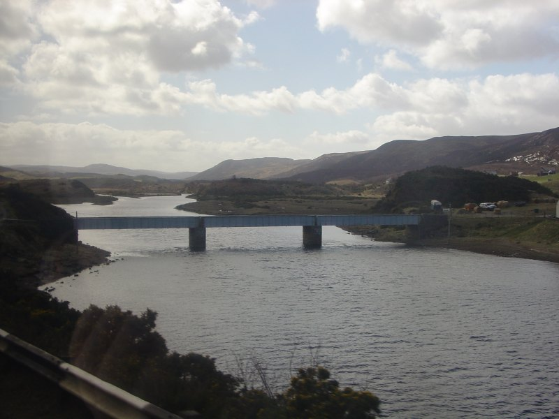 Photo: Caithness Field Club Bus Trip 2006 - Naver Bridge