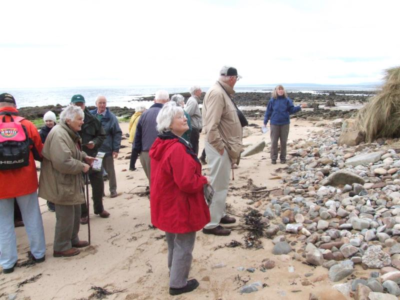 Photo: Caithness Field  Club - Bora Beach Exploring The Salt Industry
