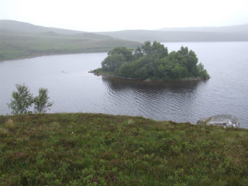 Photo: Caithness Field  Club - Grianan, Loch Hakel Near Tongue - 6 July 2008