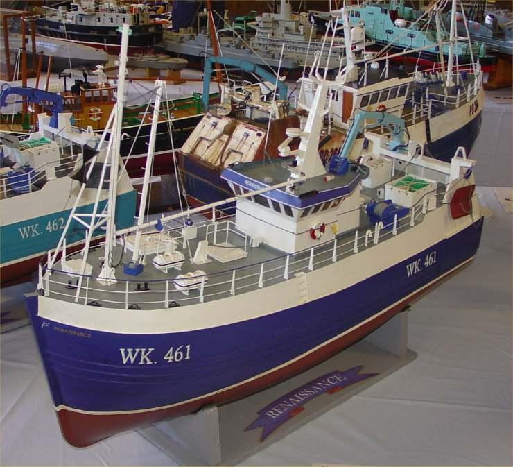 Photo: Pentland Model Boat Club Show 2006 - WK461 Rennaicance