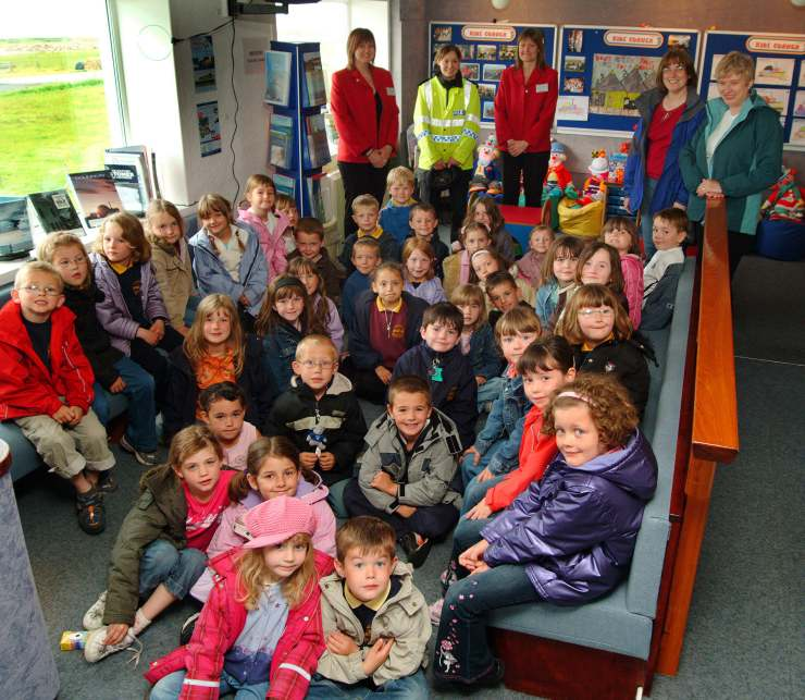 Photo: Halkirk School Pupils Visit To Dounreay