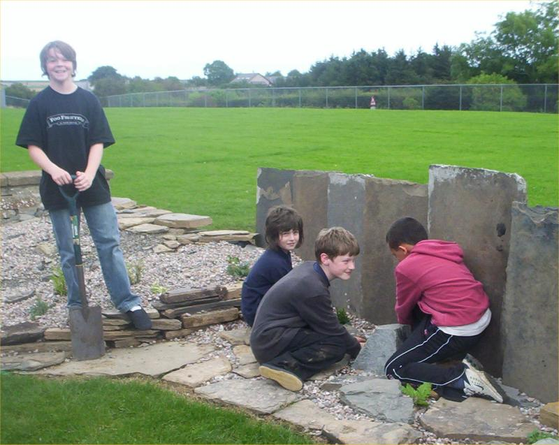 Photo: Halkirk School Garden Project 2006