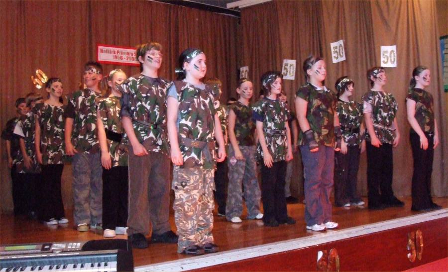 Photo: Halkirk School Concert Celebrating 50 Years 1956 - 2006