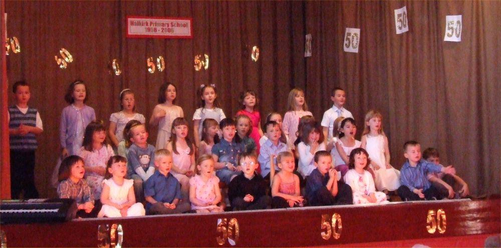 Photo: Halkirk School Concert Celebrating 50 Years 1956 - 2006