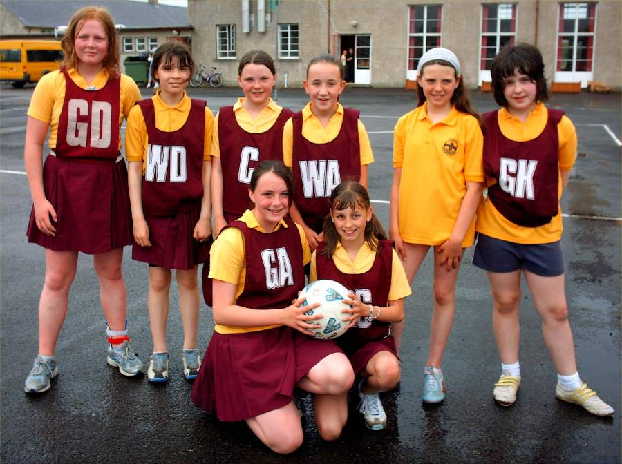 Photo: Halkirk Netball Team Wins West Side Of County Competition
