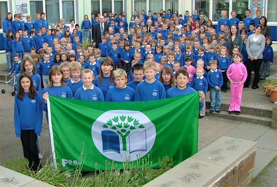 Photo: Hillhead School Gain Green Flag To Become An Eco School