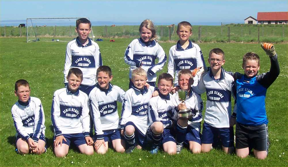 Photo: South School Team Win Town Football Trophy 2005