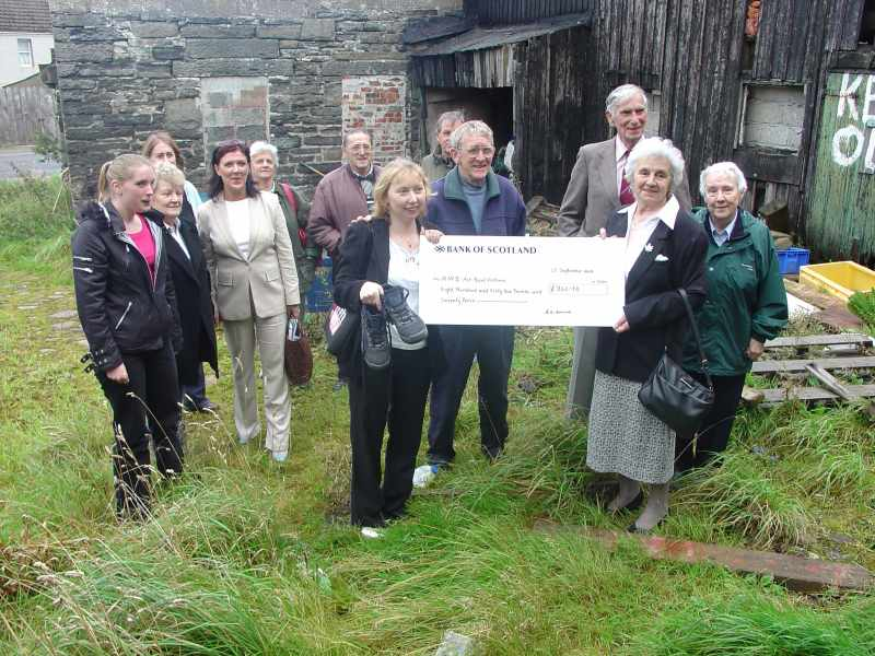 Photo: Carol Smith Raised £861 On A Walk Of The West Highland Way